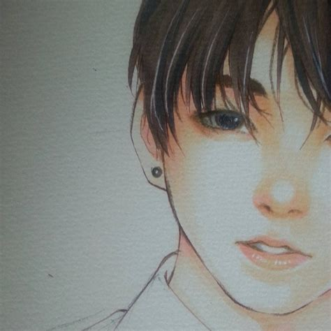 jungkook anime art bts jeon jungkook by thumbelin0811 on deviantart