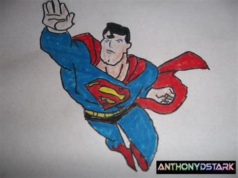drawing  superman  animated series