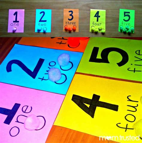 Preschool Counting Activity with Pom Poms | Preschool ...