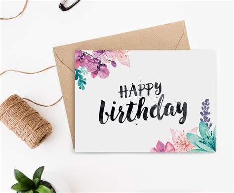 birthday card designs printable birthday card for