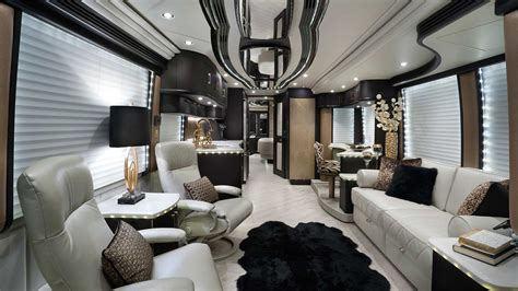 The World's Top Five Most Luxurious Rv Interiors
