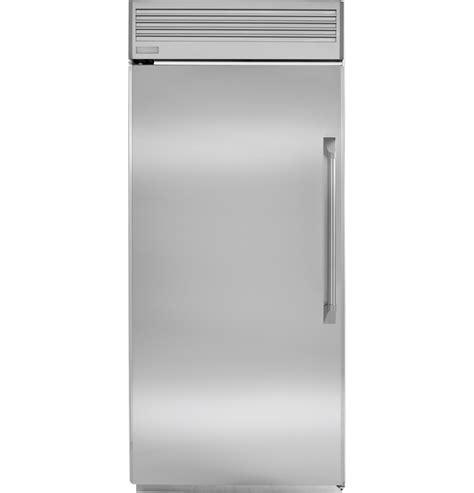 monogram  professional built   freezer zifpnhlh ge appliances