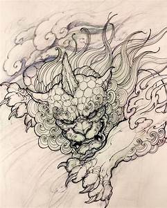 11 best tatoo foo dog images on Pinterest | Dog tattoos ...