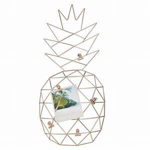 Pele Mele Maison Du Monde : p le m le en m tal dor ananas maisons du monde pineapple ananas pinterest p le ~ Teatrodelosmanantiales.com Idées de Décoration