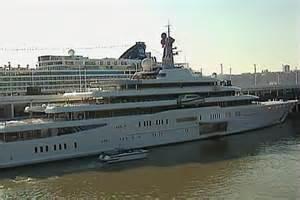 Russian Billionaire Yacht Eclipse