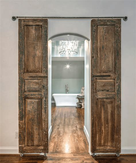 29 Best Sliding Barn Door Ideas And Designs For 2018. Pendant Lights. 47 Inch Vanity. Home Bowling Alley. Concrete Dining Table. Black Garage Doors. Interstate Lumber. Mirror Buffet. Small Kitchen Island Cart