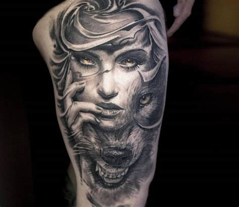 Wild Face tattoo by Victor Portugal   Post 15233