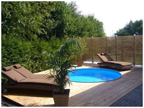 Pool Im Garten Gestalten Mit Holz by Garten Gestalten Mit Pool Parsvending