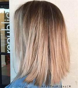 31 Lob Haircut Ideas For Trendy Women Beige Blonde Your