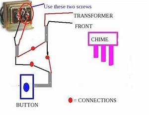 Doorbell Transformer 24v  U0026 Connect The Other End Of The