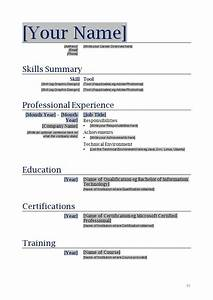 Free blanks resumes templates posts related to free for Blank resume template