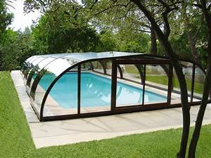Abri Haut Piscine : abri de piscine mi haut abri piscine abrisud fabricant ~ Premium-room.com Idées de Décoration