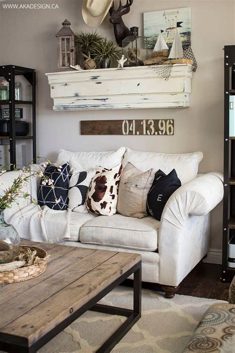 rustic living room wall decor 35 best farmhouse living room decor ideas and designs for 2017