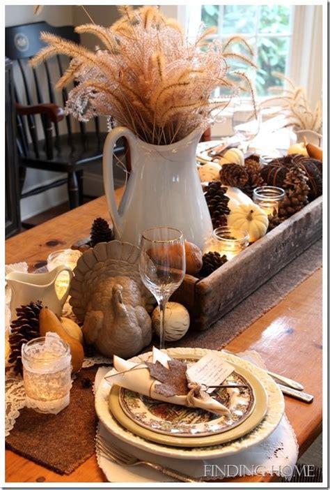 10 Beautiful Thanksgiving Table Settings {diy} Parkdaily