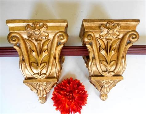 Curtain Sconce - 9 75 pair of curtain sconces curtain holders window