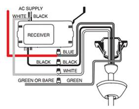wiring how should i wire a ceiling fan remote where two switches are used to the