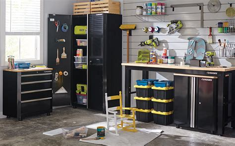 Garage Storage Ideas by Creative Garage Storage Ideas The Home Depot