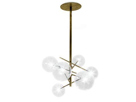 halogen brass pendant l bolle by gallotti radice design