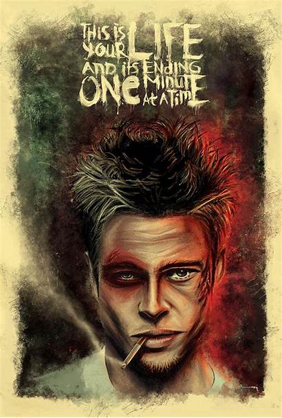 Fight Club Poster Behance Project