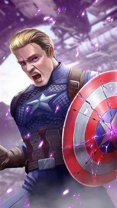 Captain America Shield Broken Iphone Stone Power