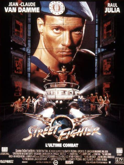 affiche du film street fighter lultime combat affiche