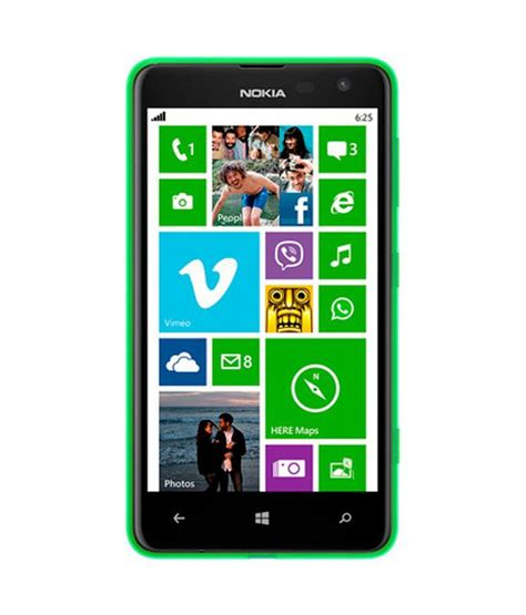nokia lumia 625 green with free apps price in india buy nokia lumia 625 green with free
