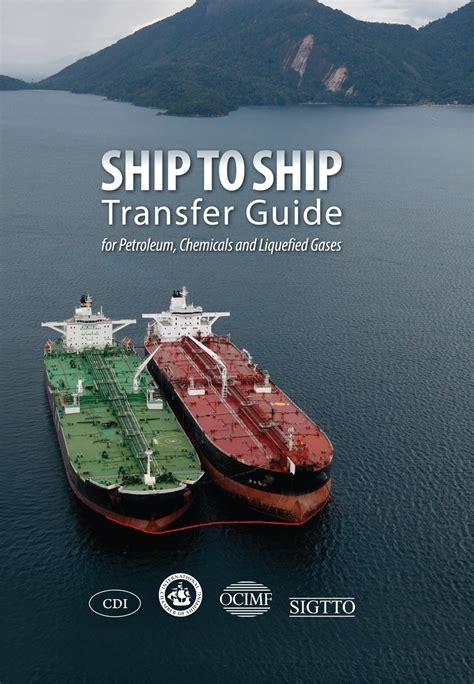 ICS - Ship to Ship Transfer Guide for Petroleum, Chemicals a