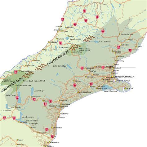 Rangiora - Where in New Zealand Map - Canterbury