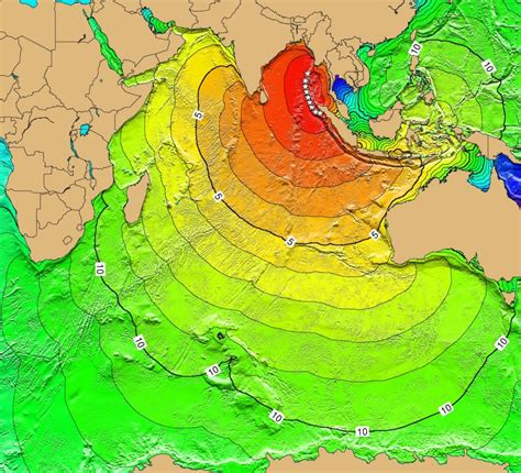 indian ocean tsunami threat  subduction zone earthquakes