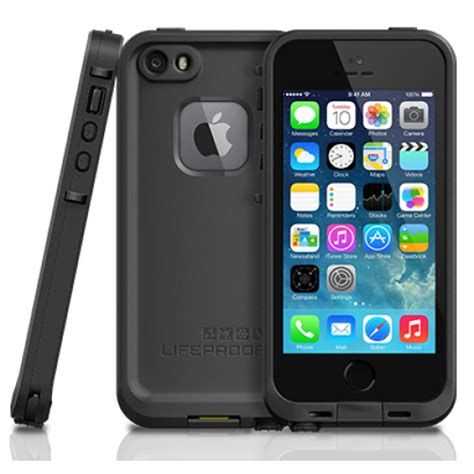 iphone 5s cases lifeproof lifeproof fre for iphone 5s se black