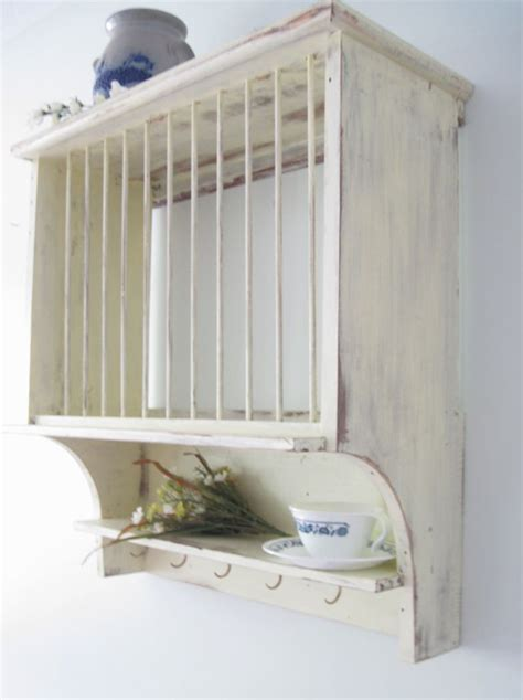 shabby chic dish rack shabby chic primitive french country cottage style plate dish rack reclaimed wood cottages
