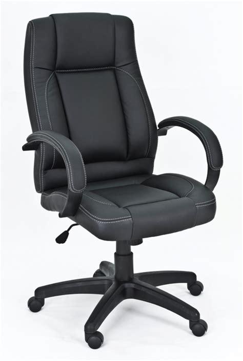 basika bureau fauteuil de bureau hepha noir