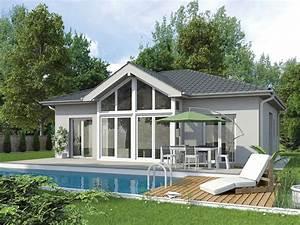 Kleinen Bungalow Bauen : vario haus bungalow e98 gibtdemlebeneinzuhause einfamilienhaus fertighaus fertigteilhaus ~ Sanjose-hotels-ca.com Haus und Dekorationen