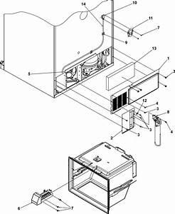 Cabinet Back Diagram  U0026 Parts List For Model Mbf2254heb