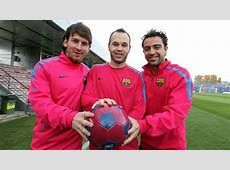 Five candidates to Ballon d'Or Messi, Xavi, Iniesta