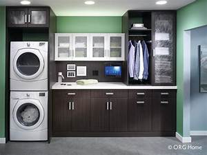 beautiful and functional laundry room in a small space With secrets for functional and attractive laundry room cabinets
