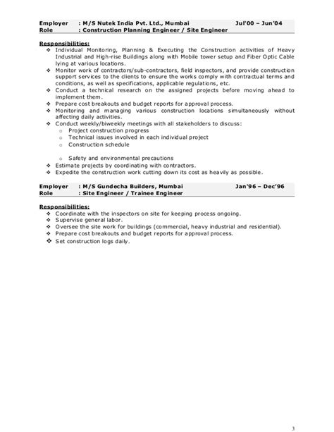 stunning environmental project manager resume ideas