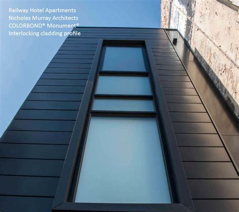interlocking metal cladding systems