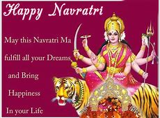 Happy Navratri 2018 wishing HD Wallpaper Images Collection