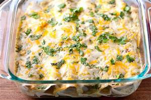 Chicken Enchiladas With Tomatillo Sauce (Enchiladas Verdes ...