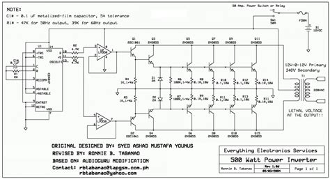 12v to 110v 220v 500w inverter