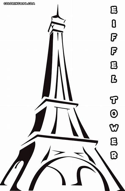 Tower Coloring Eiffel Colouring Sheet French Gameofthronesseason