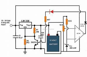 A Simple Yet Accurate Automatic  Regulated 6v  12v  24v