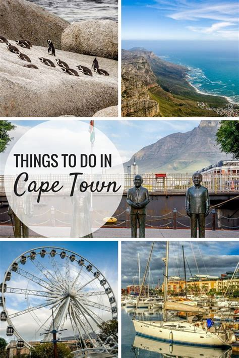 Exploring The Top Cape Town Attractions Y Travel Bucket