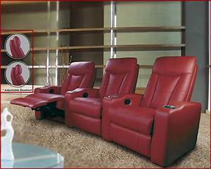 Coaster 3pc home theater seating set co 60013s for Coaster home theater furniture