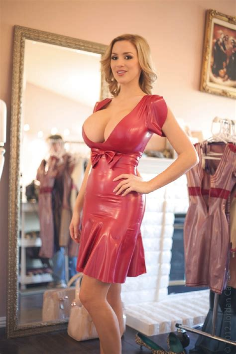 Jordan Carver Boobs Exposed In Latex Shoot Big Boobs