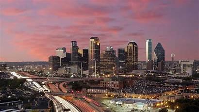 Texas Wallpapers Skyline Night Dawn Dallas Austin