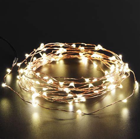 Led Solar String Lights by Oak Leaf Solar Led Copper String Lights Sahalee Grid