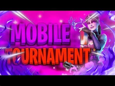 fortnite mobile custom scrims tournament season