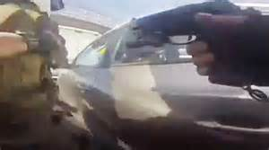 Shocking moment police officer shoots dead a 16-year-old ...